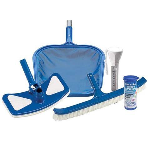 basic pool maintenance maintenance kits splash basic pool maintenance kit 010073