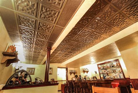 Game Rooms  Bars  Man Caves With Tin Ceilings