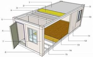 plans maison container containers amenages With plan de maison design 11 187 containers