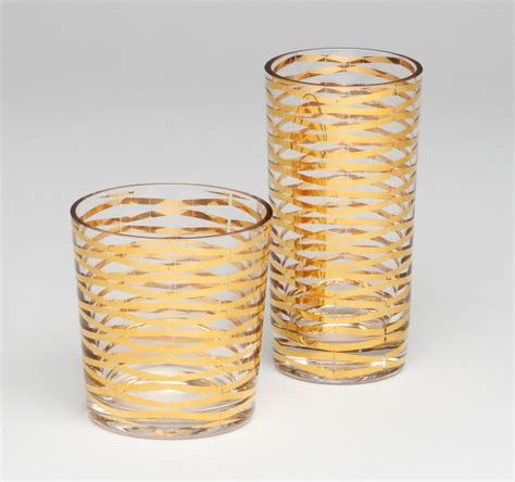 Gold Ribbons Drinking Glass  Contemporary  Everyday. Vogt Auction. Fancy Toilet. Rustic Dining Tables. Bathroom Fixtures. Countertop Tile Edge. Width Of Washer And Dryer. Art Deco Coffee Table. Living Room Window Treatments