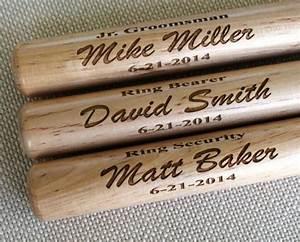 Personalized Mini Baseball Bat - Ring Bearer Gift ...