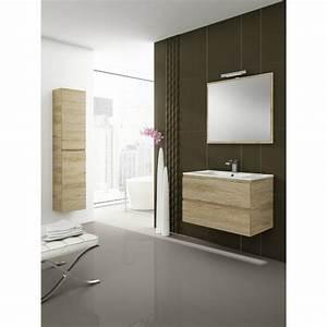 Meuble Sous Vasque Suspendu : meuble sous vasque suspendu delta 2 tiroirs verticaux ~ Dailycaller-alerts.com Idées de Décoration