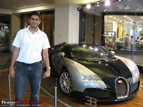 bugatti veyron showroom visit team bhp