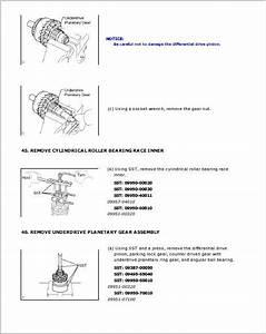 Toyota Auris Workshop Service Repair Manual