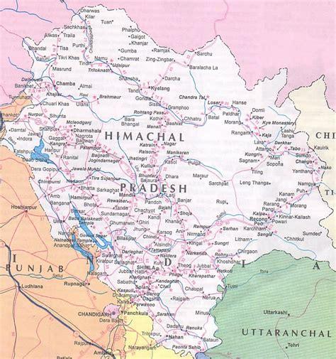 himachal pradesh tourism himachal pradesh map