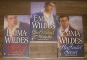 3 Emma Wildes Paperback Lot MY LORD SCANDAL~OUR WICKED ...