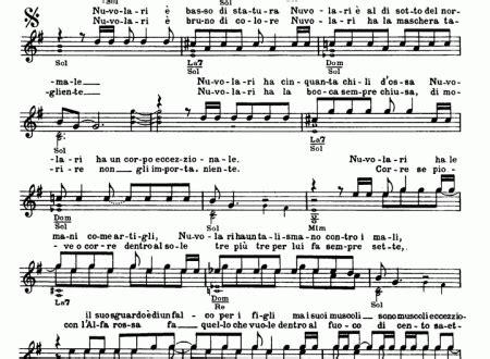 santa lucia de gregori testo francesco de gregori easy sheet