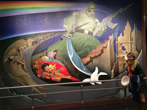 eerie murals at the denver airport have conspiracy