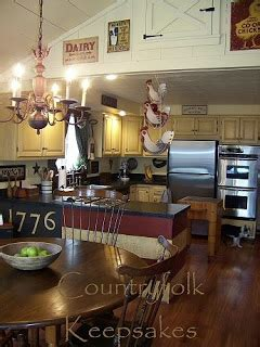 folks country kitchen to dwell in primitive thymes talk about cleaning 1042