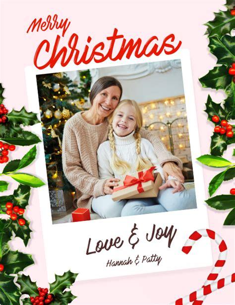 Customize 4,730+ Christmas Cards Design Templates ...