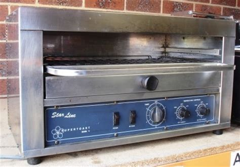used commercial toaster sold starline supertoast infared toaster sold