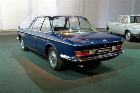 BMW 2000 CS - La BMW Série 6 et ses précurseurs ...