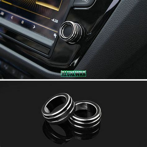 car interior button audio stereo volume control knob ring