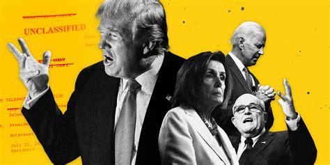 Democrats Unveil Trump Impeachment Charges; White House ...