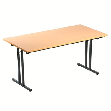 table bureau pliante table pliante l140 x p70 cm bureau dépôt