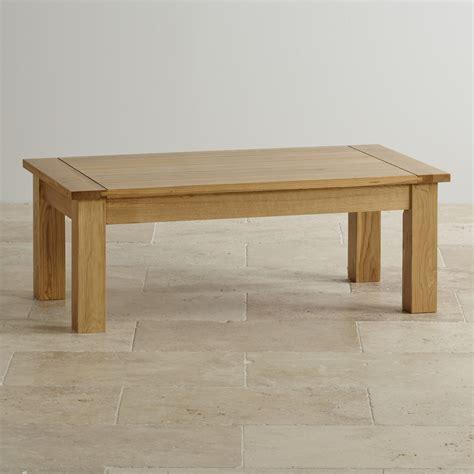 Wohnzimmertisch Eiche Massiv by Contemporary Coffee Table In Solid Oak Oak Furniture Land