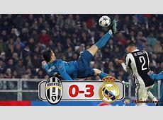 Juventus vs Real Madrid 03, Highlight dan Goal, Champions