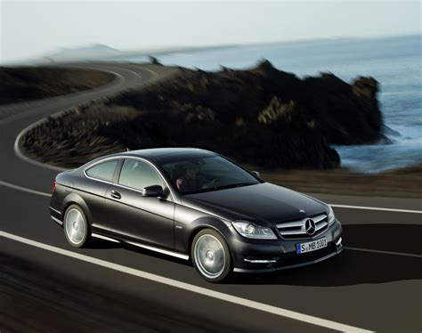 Mercedes Cclass 2012 by 2012 Mercedes C Class Coupe Officially Revealed