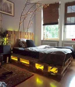 15, Unique, Diy, Pallet, Bed, Frame, Ideas