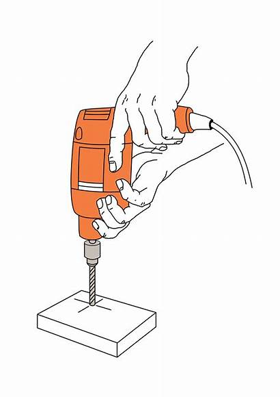 Drill Svg Scheme Wikipedia Percer Tool Electric