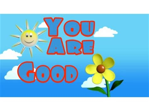 You Are Good  Singin' Praise Kids  Song Tracks