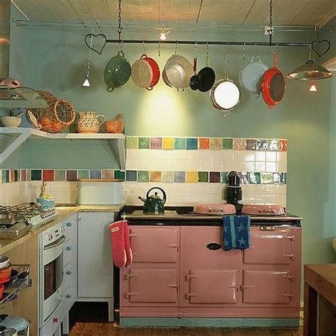 colourful kitchen tiles ไอเด ยห องคร วสวย ๆ ตกแต งเร ยบง าย น าใช งาน 2373