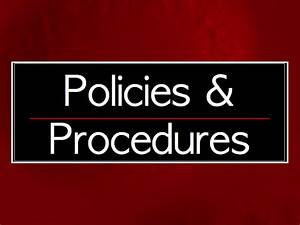 Developing A Policies And Procedures Guidebook