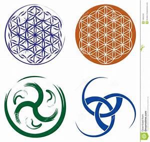 Symboles De Protection Celtique : ensemble de symboles celtiques et fleur de dur e photographie stock image 12824232 ~ Dode.kayakingforconservation.com Idées de Décoration