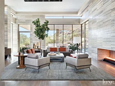travertine michael miller and living rooms on