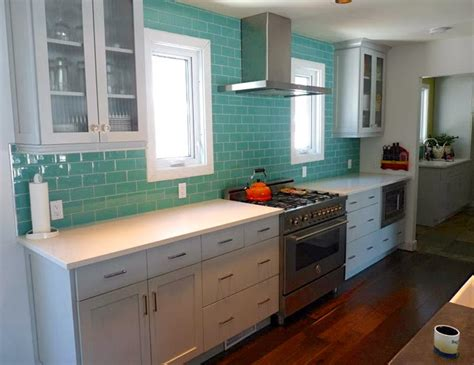 turquoise kitchen tiles reader renovation house of turquoise 2970