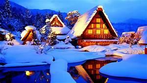 Winter Cabin Wallpapers