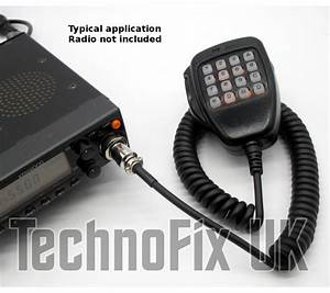 Dtmf Microphone For Kenwood Ts
