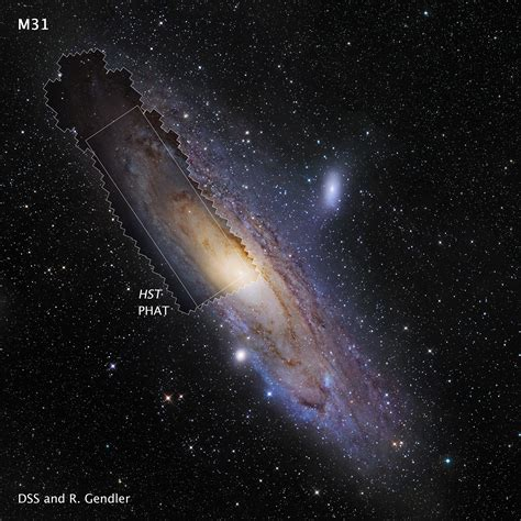 Hubble's Highdefinition Panoramic View Of The Andromeda Galaxy  Astronomy Now
