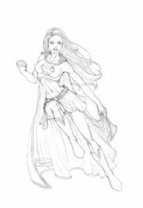 supergirl sketch  tashotooledeviantartcom  atdeviantart drawing superheroes superhero art