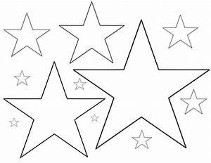 Stern Vorlage Ausschneiden Ausmalbilder von Stern