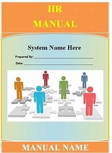 Human Resource Manual Template - Guide - Help