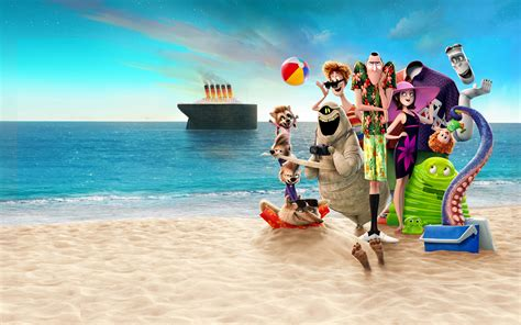 hotel transylvania 3 summer vacation 2018 4k 8k wallpapers