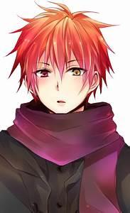 Anime Heterochromia Odd Eyes Red Yellow Akashi