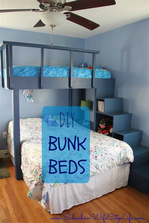 Diy Bunk Beds  Suburban Wife, City Life