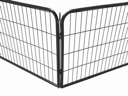 Fence Dog Metal Cage Pet Panel Cat