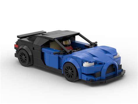 Lego moc bugatti veyron super sport in minifig size. LEGO MOC-31789 Bugatti Chiron (Speed Champions 2019)   Rebrickable - Build with LEGO