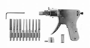 56 30 Stainless Steel Manual Dimple Lock Bump Pick Gun