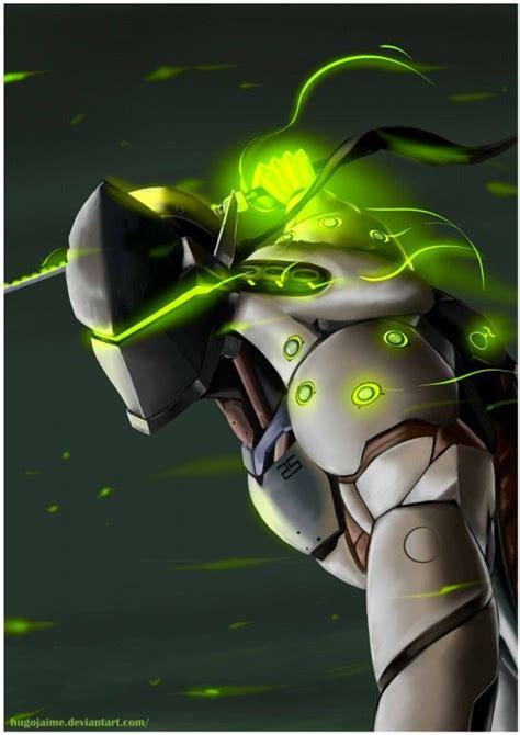 overwatch genji  hugojaime  deviantart overwatch hub
