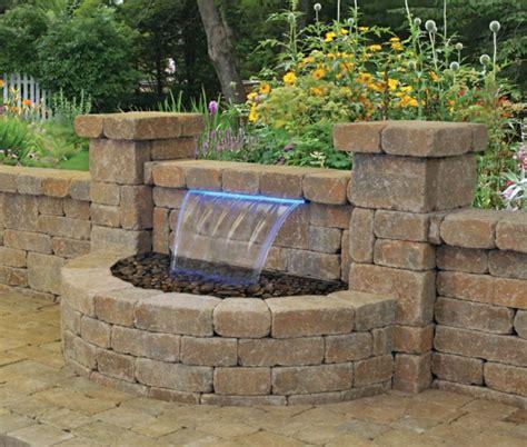 Beleuchtung Für Den Garten 2200 wasserfall f 252 r den garten