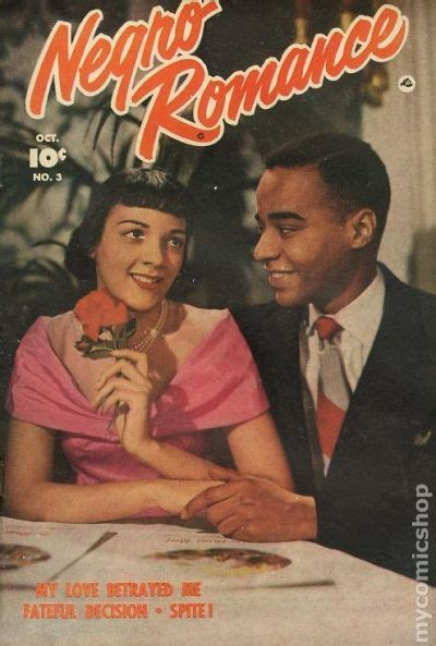 negro romance  fawcett comic books