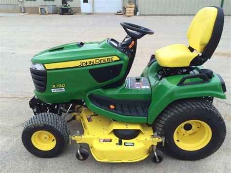 deere garden tractor deere x730 lawn garden tractors for 53708