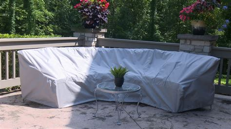 sectional patio furniture covers how to make a cover for a curved patio set sewing