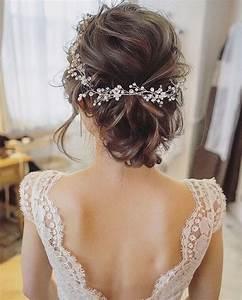 Modèles de coiffures de mariage tendance 2018 Coiffure simple et facile