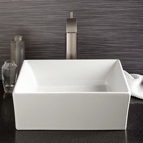 vessel bathroom sink pop square vessel lavatory  dxv
