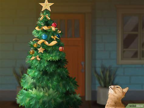 repel cat christmas tree 3 formas de montar uma 193 rvore de natal 224 prova de gatos